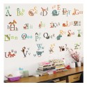 Removable Wall Sticker- 26 Alphabets Letters