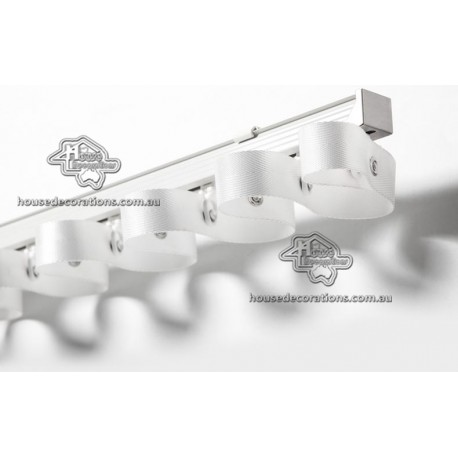 Custom Made Fashionable Design Curtain Rods with 28mm Diameter