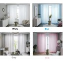 Custom Made 9 Colors Sheers Curtains. Top of sheers in 3 styles: S Fold or Pinch Pleated or Eyelet.