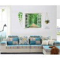 Removable Wall Sticker-Forest Alley