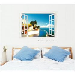 Removable Wall Sticker-Mediterranean View