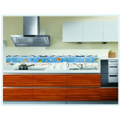 Removable Wall Sticker-Under Sea Aquarium