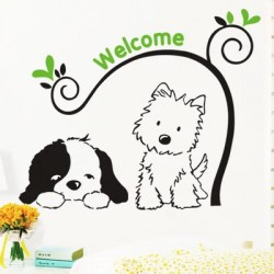 "Removable Wall Sticker-""welcome"""