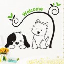 """Removable Wall Sticker-""""welcome"""""""