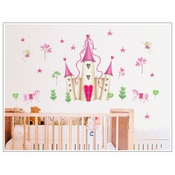 Removable Wall Sticker-Dream of Castle