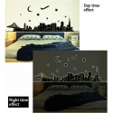 Glow In The Dark City Wall Stickers