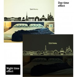 Glow In The Dark Saint Petersburg Wall Stickers