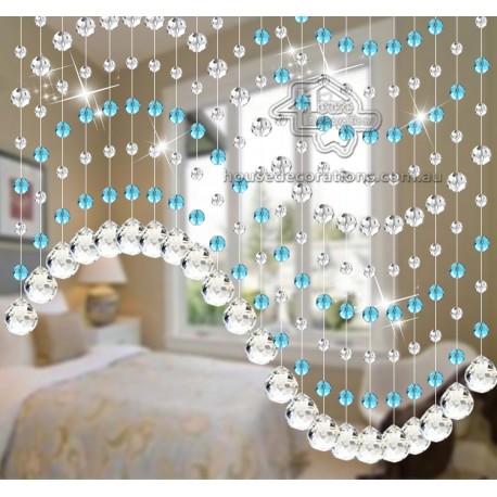 Elegant Beads Curtains Custom Made