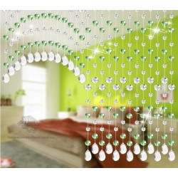 Elegant Beads Curtains Custom Made