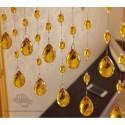 Custom Made Fashionable Acrylic Crystal Beads Curtain-Various Colours