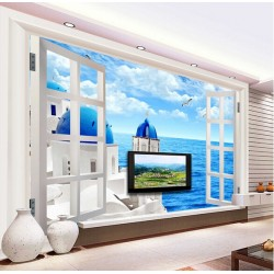 Innovative Beach View Wallpapers Custom Made