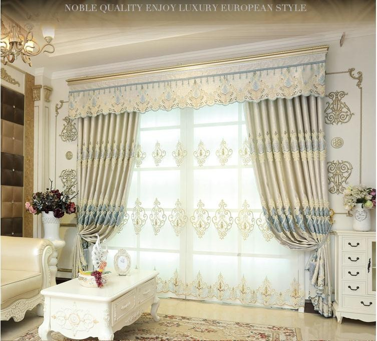 Custom Made Majesty Luxurious Curtains Blockout+Sheer+Valance