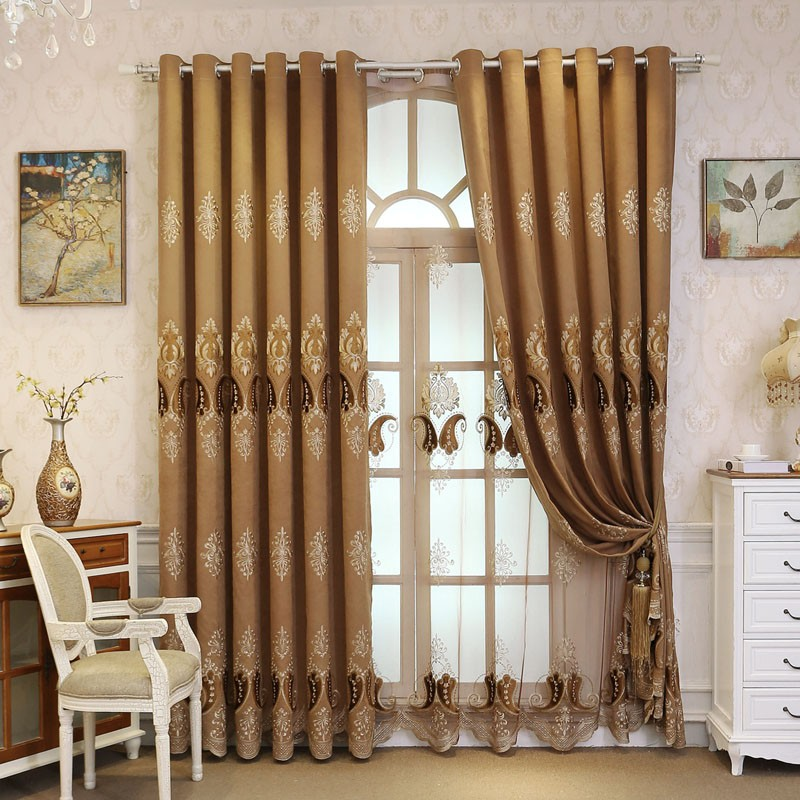 Custom Made Majesty Luxurious Curtains Blockout+Sheer